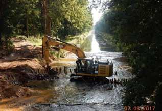 Hahnenmoorkanal: Beseitigung von Wanderhinderissen